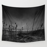 On the wrong side of the lake 12 Wall Tapestry by HappyMelvin