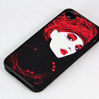 Fashion Elegance iPhone 4 iPhone 4S Case, Rubber Material Full Protection