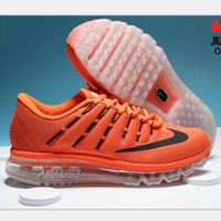 NIKE AirMax Trending Fashion Casual Sports Shoes red H-PSXY