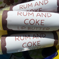 Rum and Coke Lip Butter ~ Lip Balm