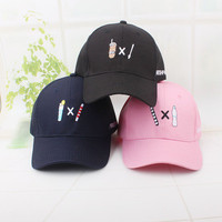 SIMPLE - Summer Gift Retro Embroidery Baseball Cap Unique Casual Hat a12455