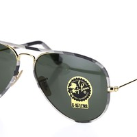 Cheap RAY BAN Unisex RB3025JM Full Color Metal Pilot 58mm Sunglasses 130554 outlet