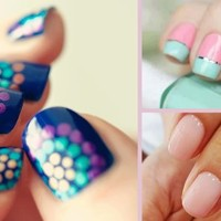 Hot Nail Art Designs