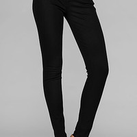 7 For All Mankind : The Skinny Second Skin Legging In Clean Black - AU0150828