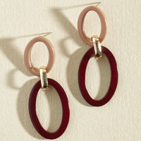 Just Can't Get Oval These Earrings