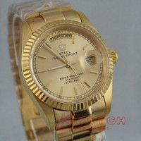 Men Gold S/steel Day Date President Automatic Watches
