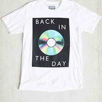 Back In The Day Tee- White