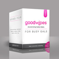 Goodwipes Deodorizing Body Wipes for Gals (10pk)