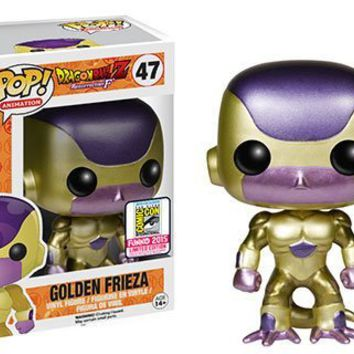 Funko Pop Vinyl Dragonball Z Golden Frieza - 2015 Summer Convention Exclusive