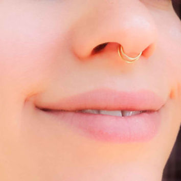 Best Double Nose Ring Products On Wanelo