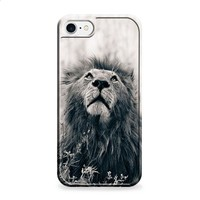 Black And White Lion iPhone 7   iPhone 7 Plus case