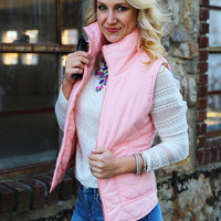 Only Way To Be Vest {Light Pink}