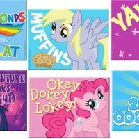 My Little Pony Friendship is Magic Magnet - My Little Pony -   TV Store Online