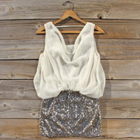 Sparkling Snow Party Dress
