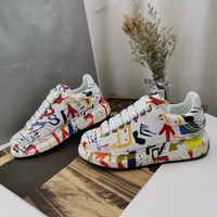 Alexander Mcqueen Graffiti Oversized Sneakers Reference #12