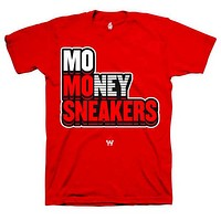 Jordan 3 Red Cement Unite Mo Sneakers Red T Shirt