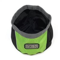 Collapsible Pet Port-a-Bowl - Green