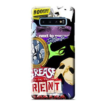 BROADWAY MUSICAL COLLAGE Samsung Galaxy 3D Case Cover