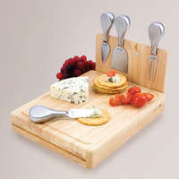 Folding Cheese Board Tool Set - World Market