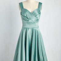 Cast an Elegance Dress in Seaglass