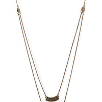 Tribal-Inspired Cutout Necklace