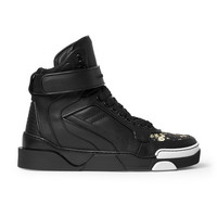 Givenchy - Tyson Floral-Print Leather High Top Sneakers | MR PORTER