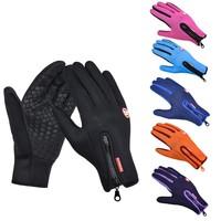Winter Outdoor Sports Windstopper Gloves Waterproof Thermal Cycling Gloves for Men Women Motorcycle Driving Hiking Skiing Gloves