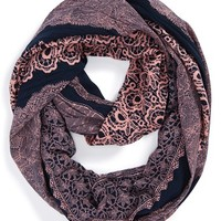 Women's POVERTY FLATS by rian 'Dutch Potters' Infinity Scarf