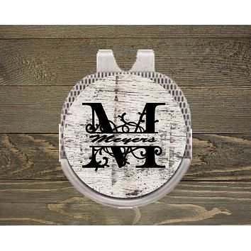 Personalized Ball Marker | Hat Clip Ball Marker | Golf Gifts | Monogram