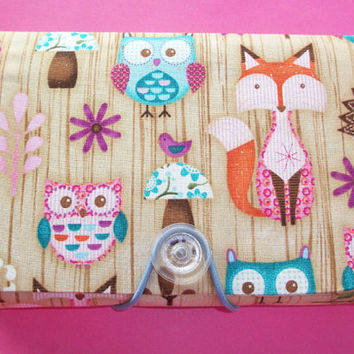 Coupon Organizer / holder / keeper - Owls, Foxes, birds, and hedgehogs