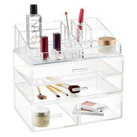 The Container Store > Luxe Acrylic Modular System