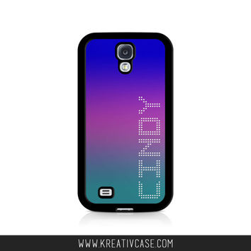 iPhone 5 Case, iPhone 5s/5c Case, Personalized iPhone Case, Custom iPhone Cover with Ombre Effect, also for Samsung and Blackberry - K300