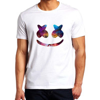 Marshmello Galaxy Nebula Men T-Shirt
