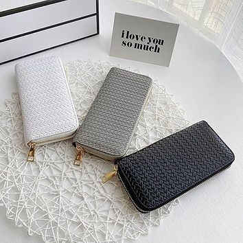 Wallet for Girls Phone Bag With Double Zipper Coin Purse Holders Money Bag Ladies Purse Women Slim Wallets Female
