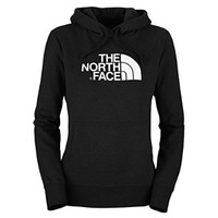Women's The North Face Half Dome Hoodie TNF Black/TNF White Size Large
