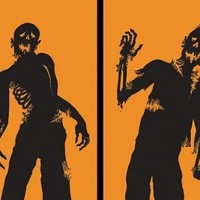 "WOWindow Posters Ghoulies Silhouettes Halloween Window Decoration Two 34.5""x60"" posters"