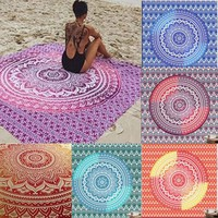 twin Ombre Indian Wall Hanging Hippie Mandala Tapestry Bohemian Bedspread Dorm
