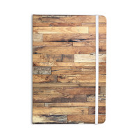 "Susan Sanders ""Campfire Wood"" Rustic Everything Notebook"