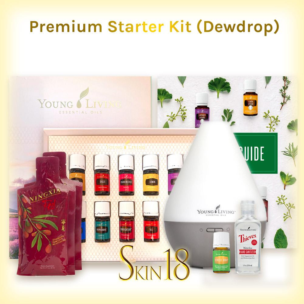 Image of Premium Starter Kit with Dewdrop Diffuser