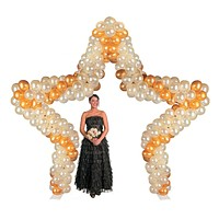 Balloon Frame - Star Arch Weddings & Parties 11Ft