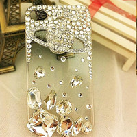 iPhone 4 case iPhone cover Pearl earth    gifts   handmade  loves Fashion case iphone case  cell phone cases