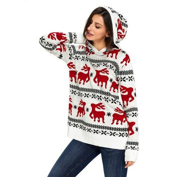 Ugly Christmas Hooded Sweater