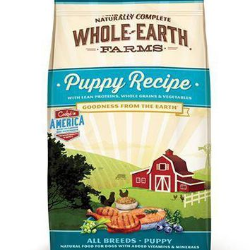 Whole Earth Farms Grain-Free Dry Puppy Food 5lbs