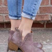 Desert Rose Booties
