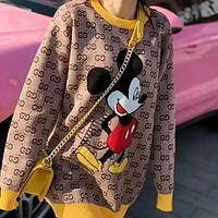 GUCCI Fashionable temperament, versatile, loose and thin sweater