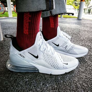 """Nike Air Max 270 """"White/Black"""" Running Shoes - Best Deal Online"""