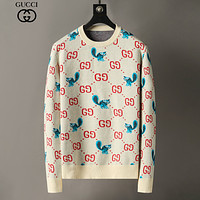 GG Top Quality Double G Round Neck Long Sleeve Sweater