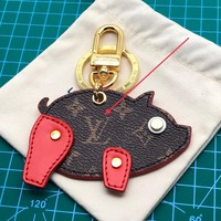 Louis Vuitton Lv Pig Bag Charm And Key Holder Red M64181 - Best Online Sale