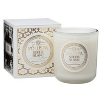 Suede Blanc Classic Maison Candle