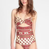 Maya One Piece Swimsuit By MINKPINK - $104.00 : ThreadSence, Women's Indie & Bohemian Clothing, Dresses, & Accessories